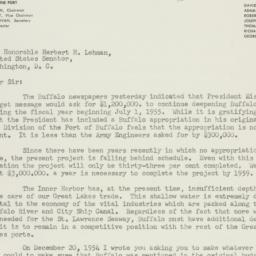 Letter : 1955 January 18