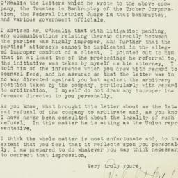 Letter: 1954 March 6