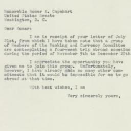 Letter: 1954 August 3