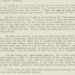 Letter: 1956 May 21