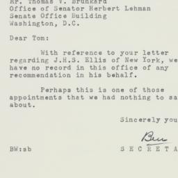 Letter : 1954 January 20