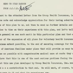 Memorandum : 1955 April 27