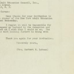 Letter : 1948 November 29