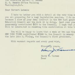 Letter : 1949 December 19