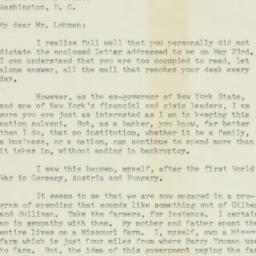 Letter: 1950 May 25