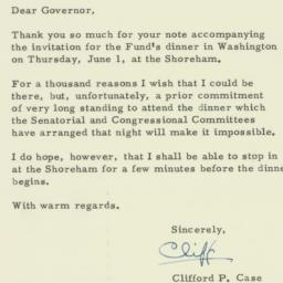 Letter : 1961 May 17