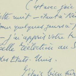 Letter : 1950 November 8