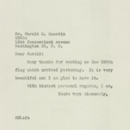 Letter : 1946 October 22