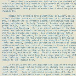 Letter : 1934 October 25