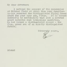 Letter : 1944 October 18