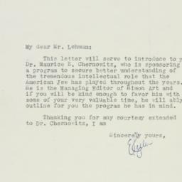 Letter : 1946 August 17