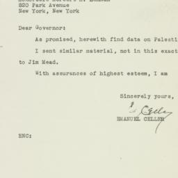 Letter: 1946 September 25