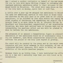 Letter: 1947 April 9