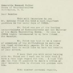 Letter: 1949 July 12