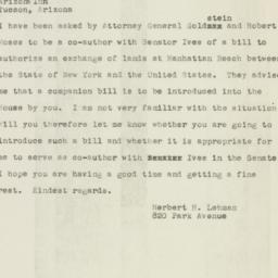 Telegram : 1949 December 14
