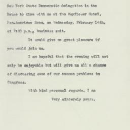 Letter: 1951 January 29
