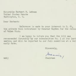 Letter : 1952 January 3