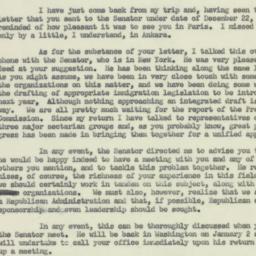 Letter : 1952 December 23