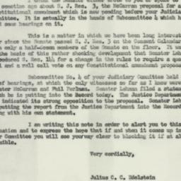Letter : 1954 April 23