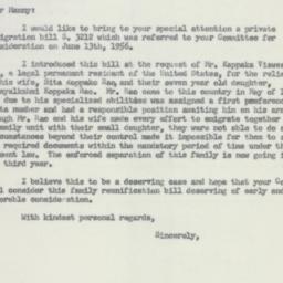 Letter : 1956 June 20