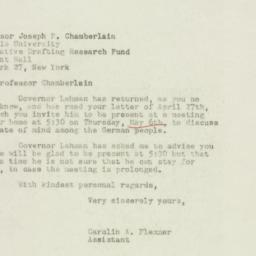 Letter : 1948 May 4