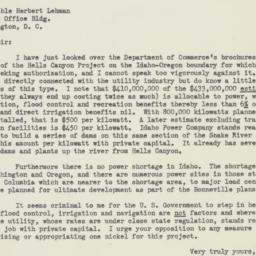 Letter : 1951 June 19