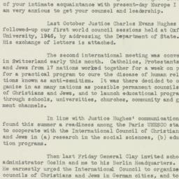 Letter : 1947 August 21