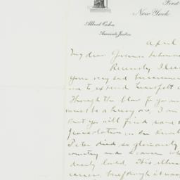 Letter : 1944 April 17