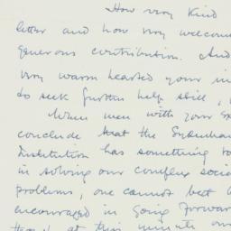 Letter : 1947 December 14