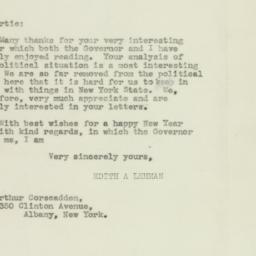 Letter : 1943 December 27