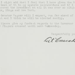 Letter : 1944 November 1
