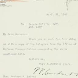 Letter : 1942 April 22