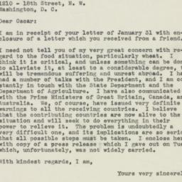Letter : 1946 February 5