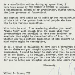 Letter : 1961 February 21