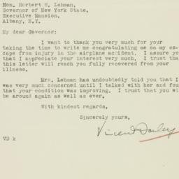 Letter : 1933 October 5