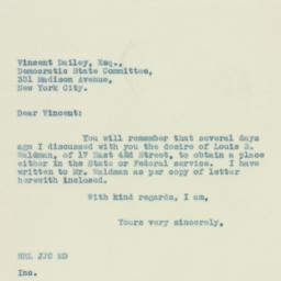 Letter: 1934 April 24