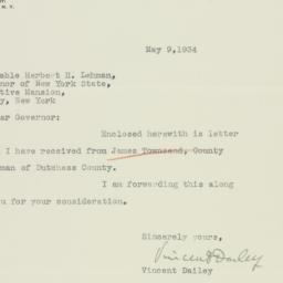 Letter : 1934 May 9