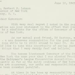 Letter : 1942 June 10