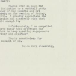 Letter : 1950 May 1