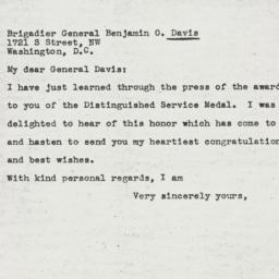 Letter : 1945 February 12
