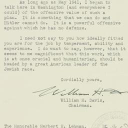 Letter : 1942 November 21