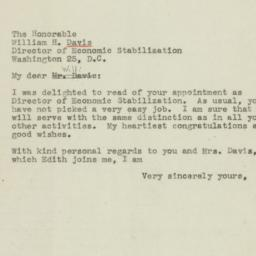 Letter : 1945 March 12
