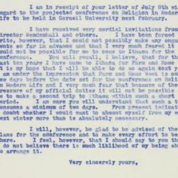Letter : 1940 July 12