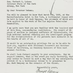 Letter : 1939 January 31