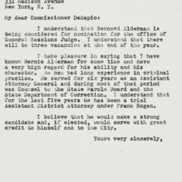 Letter : 1950 June 30