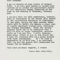 Letter : 1954 January 23