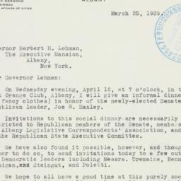 Letter : 1939 March 25