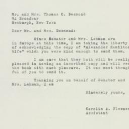 Letter : 1952 August 15