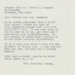 Letter: 1952 September 17