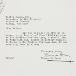 Letter : 1937 July 6